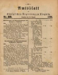 Amtsblatt der Königlichen Regierung zu Liegnitz, 1890, Jg. 80, Nr. 33