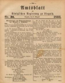 Amts-Blatt der Königlichen Regierung zu Liegnitz, 1893, Jg. 83, Nr. 31