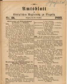 Amts-Blatt der Königlichen Regierung zu Liegnitz, 1893, Jg. 83, Nr. 41