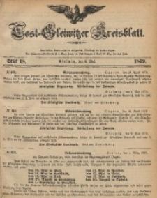 Tost-Gleiwitzer Kreisblatt, 1879, Jg. 37, St. 18