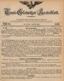 Tost-Gleiwitzer Kreisblatt, 1879, Jg. 37, St. 25
