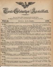 Tost-Gleiwitzer Kreisblatt, 1879, Jg. 37, St. 48