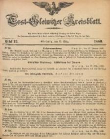 Tost-Gleiwitzer Kreisblatt, 1880, Jg. 38, St. 12