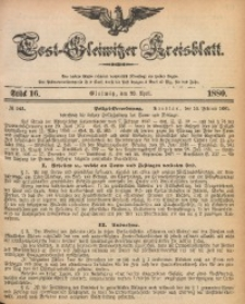 Tost-Gleiwitzer Kreisblatt, 1880, Jg. 38, St. 16