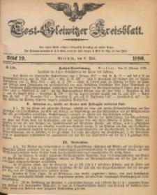 Tost-Gleiwitzer Kreisblatt, 1880, Jg. 38, St. 19