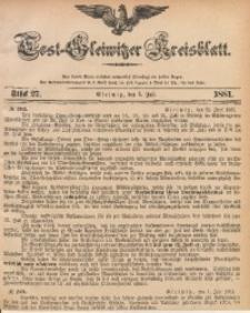 Tost-Gleiwitzer Kreisblatt, 1881, Jg. 39, St. 27