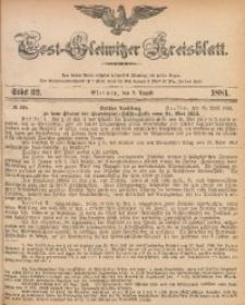 Tost-Gleiwitzer Kreisblatt, 1881, Jg. 39, St. 32