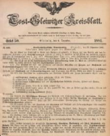 Tost-Gleiwitzer Kreisblatt, 1881, Jg. 39, St. 50