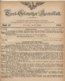 Tost-Gleiwitzer Kreisblatt, 1882, Jg. 40, St. 44