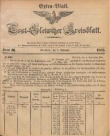 Tost-Gleiwitzer Kreisblatt, 1885, Jg. 43, St. 36