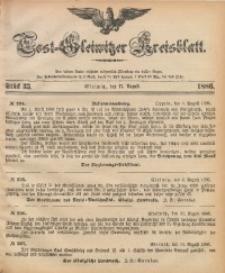 Tost-Gleiwitzer Kreisblatt, 1886, Jg. 44, St. 33