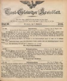 Tost-Gleiwitzer Kreisblatt, 1886, Jg. 44, St. 36