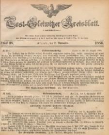 Tost-Gleiwitzer Kreisblatt, 1886, Jg. 44, St. 38