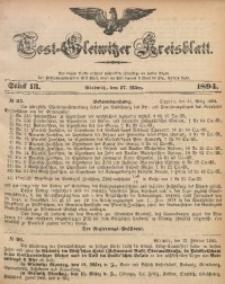 Tost-Gleiwitzer Kreisblatt, 1894, Jg. 52, St. 13