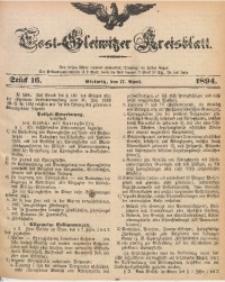Tost-Gleiwitzer Kreisblatt, 1894, Jg. 52, St. 16