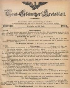 Tost-Gleiwitzer Kreisblatt, 1894, Jg. 52, St. 30