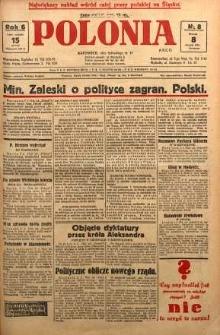 Polonia, 1929, R. 6, nr 8