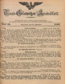 Tost-Gleiwitzer Kreisblatt, 1896, Jg. 54, St. 38