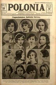 Polonia, 1929, R. 6, nr 47