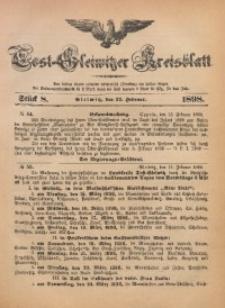 Tost-Gleiwitzer Kreisblatt, 1898, Jg. 56, St. 8