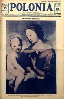 Polonia, 1929, R. 6, nr 54