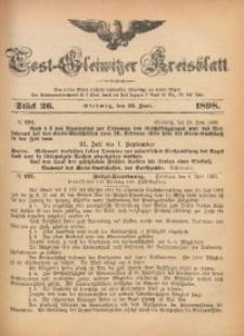 Tost-Gleiwitzer Kreisblatt, 1898, Jg. 56, St. 26