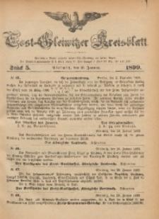 Tost-Gleiwitzer Kreisblatt, 1899, Jg. 57, St. 5