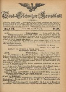 Tost-Gleiwitzer Kreisblatt, 1899, Jg. 57, St. 34