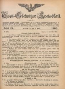 Tost-Gleiwitzer Kreisblatt, 1900, Jg. 58, St. 27
