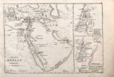 I. Arabia Kanaan i Okolice za czasów Mojżesza/ Dwanascie pokoleń Israela/ Państwo Dawida i Salomona na krolestwa rozerwane