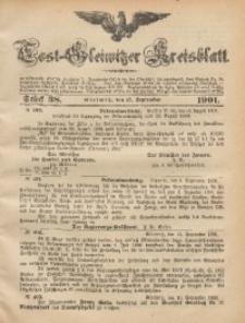 Tost-Gleiwitzer Kreisblatt, 1901, Jg. 59, St. 38