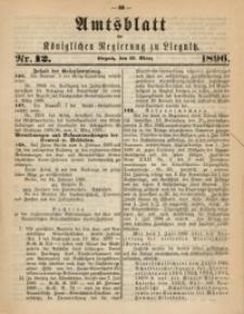 Amts-Blatt der Königlichen Regierung zu Liegnitz, 1896, Jg. 86, Nr. 12
