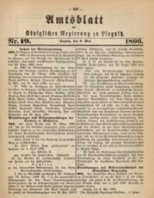 Amts-Blatt der Königlichen Regierung zu Liegnitz, 1896, Jg. 86, Nr. 19