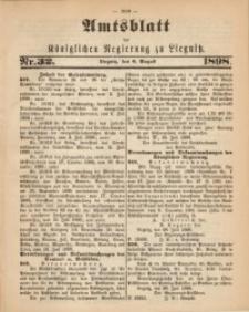 Amts-Blatt der Königlichen Regierung zu Liegnitz, 1898, Jg. 88, Nr. 32