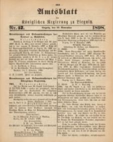 Amts-Blatt der Königlichen Regierung zu Liegnitz, 1898, Jg. 88, Nr. 47