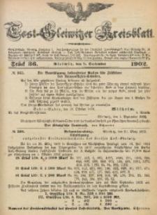 Tost-Gleiwitzer Kreisblatt, 1902, Jg. 60, St. 36