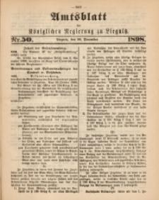 Amts-Blatt der Königlichen Regierung zu Liegnitz, 1898, Jg. 88, Nr. 50