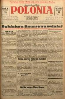 Polonia, 1929, R. 6, nr 1592