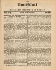 Amts-Blatt der Königlichen Regierung zu Liegnitz, 1898, Jg. 88, Nr. 53
