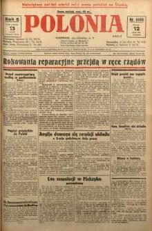 Polonia, 1929, R. 6, nr 1593