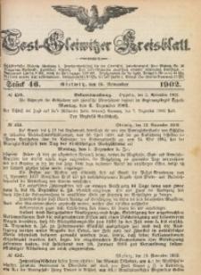 Tost-Gleiwitzer Kreisblatt, 1902, Jg. 60, St. 46