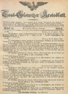 Tost-Gleiwitzer Kreisblatt, 1904, Jg. 62, St. 8