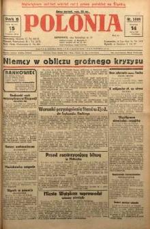 Polonia, 1929, R. 6, nr 1595