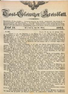 Tost-Gleiwitzer Kreisblatt, 1904, Jg. 62, St. 12