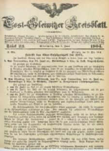 Tost-Gleiwitzer Kreisblatt, 1904, Jg. 62, St. 23