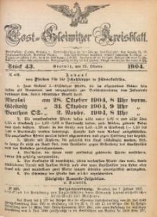 Tost-Gleiwitzer Kreisblatt, 1904, Jg. 62, St. 43