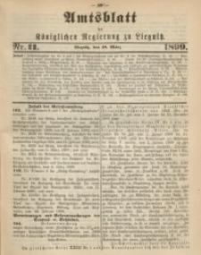 Amts-Blatt der Königlichen Regierung zu Liegnitz, 1899, Jg. 89, Nr. 11