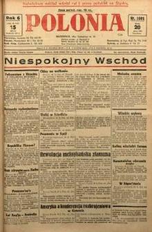 Polonia, 1929, R. 6, nr 1601