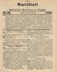 Amts-Blatt der Königlichen Regierung zu Liegnitz, 1899, Jg. 89, Nr. 51
