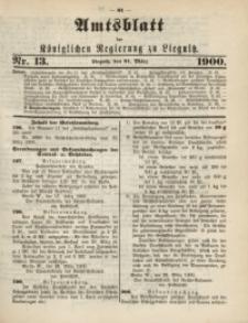 Amts-Blatt der Königlichen Regierung zu Liegnitz, 1900, Jg. 90, Nr. 13